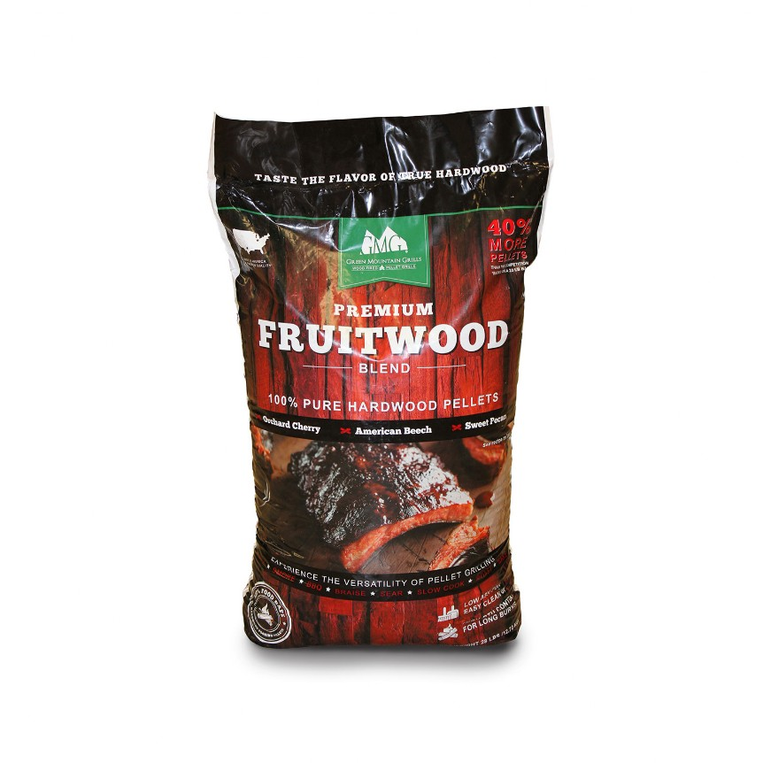 Fruitwood pellets